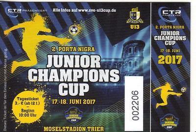 2017  Trier Tournament - Glasgow Rangers - Borussia Monchengladbach - FC Hamburg