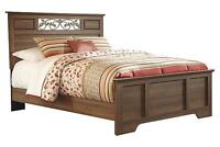 Moving Sale- Ashley Queen Bed with newly bought mattress