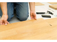 Experienced laminate floor fitting, painting and decorating and tile re grouting services