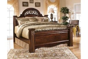 Ashley Royal King bed   Like New   On Sale