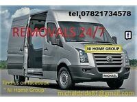 Man & van House moving services Deliveries & collection