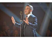 Robbie Williams BRITs Icon @Troxy London Monday 7th November 2016 Doors 18.00pm