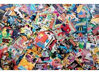 Wanted - Old Comics, Graphic Novels, Annuals, DC Marvel, Doctor Who, Star Wars - Collections bought