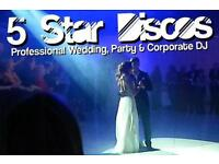 Top Quality Experienced Wedding DJ available Glasgow, Edinburgh and across Scotland