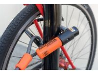 Kryptonite Evolution Mini 7 Bike Lock - D bracket lock - 4 ft Kryptoflex cable