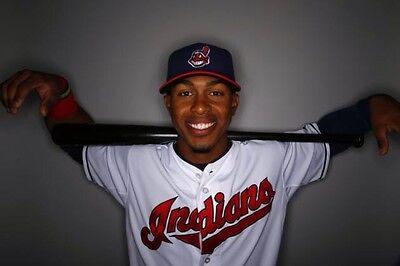 Francisco Lindor  Com Domain Name Sale Cleveland Indians Chrome Baseball Bowman