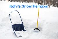 Driveway - Sidewalk - Staircase Snow Removal Service