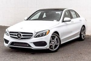 2015 Mercedes-Benz C300 4Matic with AMG Styling Pkg Low KMs
