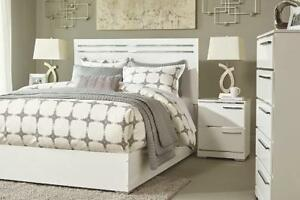 Queen White Bedroom sets Hamilton (HA-47)