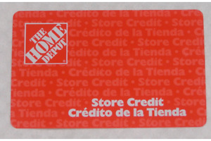 I'm selling Home Depot Store Credit