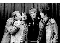 SEATED STONE ROSES TICKETS FOR HAMPDEN. Saturday 24th June