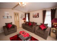 Beautifully Furnished, spacious caravan for hire Wales. Dog friendly