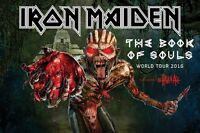 3 IRON MAIDEN Book of souls tour tickets
