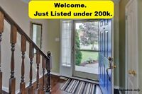 Today's just listed homes all under 200k. Starting at $99,900.