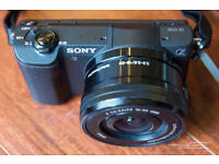 📷SONY ALPHA 5100 a5100 🔹 WITH 128GB 🔹 NFC GPS WIFI Mirrorless Camera 24MP APS-C DSLR 📷