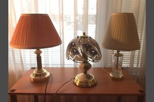One lamp. $5 .