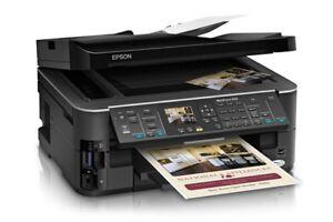 Epson workforce 633 Printer w/ ink