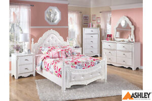 ASHLEY DOUBLE BED ONLY SALE FROM $268!