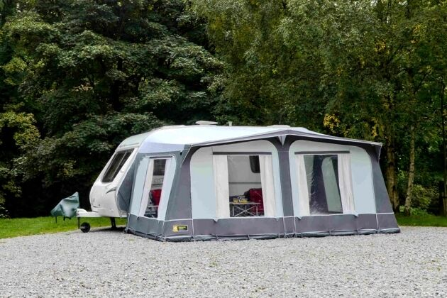 Gateway Leisure New Forest Caravan awning 850-900 steel frame grey ...