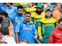 **** India South-Africa at the Oval on the 11th June (Sunday) sold out match - cheap tickets ****