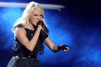 CARRIE UNDERWOOD - EXCELLENT LOWER LEVEL SEATS - OTTAWA - MAY 27