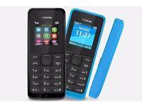 NOKIA 105 - DUAL SIM MOBILE PHONE - BRAND NEW