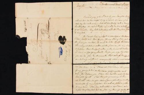 NobleSpirit {3970} Valuable Dr. John Cochran 1773 Letter to Philip Schuyler