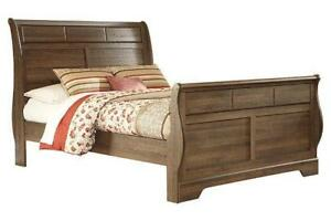 SLEIGH BEDROOM SET TORONTO SALE- ONLINE SOFA  SALE FREE SHIPPING | CALL -905-451-8999 (ASH12)