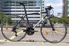 BTWIN 500 M Unisex Bicycle + lock + helmet + light