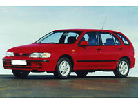 wanted peugeot 206 307 406 auto petrol and nissan almera up to 1999 toyota picnic