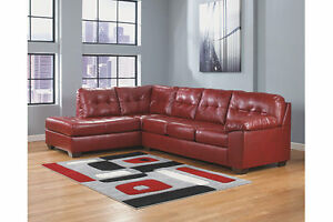 Ashley Alliston 2 Piece Sectional  AND matching love seat