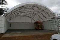 Fabric Shelter Building / Portable Storage Shelters