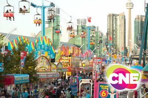 The National Exhibition CNE 2016 All Day Ride Pass+Admission