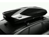 Roof box and bar hire thule