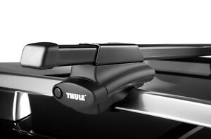Thule 45050 Complete Crossroad Railing Rack Kit and Load Stops