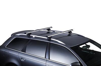 Kit Barre portatutto THULE WingBar NERO + piedi JEEP RENEGADE 5p tetto normale