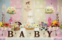 CAKE TABLE DECORATIONS AND BACKDROP DECOR