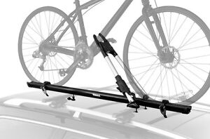 2 support vélo Thule rack toit porte bike roof carrier neufs new