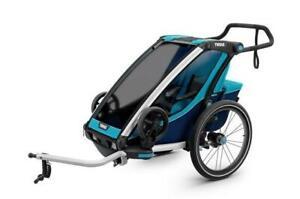 Remorque Multisports Chariot Cross - Bleu