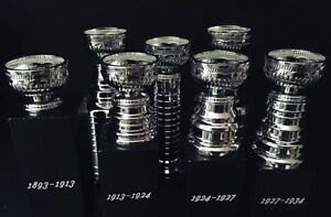 Quite Rare Stanley Cup Trophy Collection.