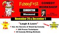 Stand Up Comedy WORKSHOP - WEEKEND COURSE - Edmonton