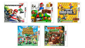 Looking for Nintendo 3DS Games