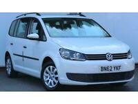 2012 Volkswagen Touran 1.6 TDI 105 S 5dr ++ 7 SEATS / FSH / 1 OWNER / BLUETOOTH