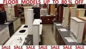 CABINETS FLOOR MODELS / CLEARANCE SALE up to 80 % OFF