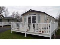 Double Glazed 2 Bed caravan for rent