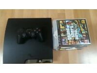 SONY PS3 250GB & Bundle of games - Good condition