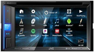 "JVC KW-V25BT 2-DIN 6.2"" CAR TOUCHSCREEN DVD CD BLUETOOTH W/"