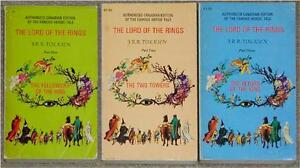J-R-R-TOLKIEN-LORD-OF-THE-RINGS-TRILOGY-CANADIAN-METHUEN-COVERS-RARE-PB
