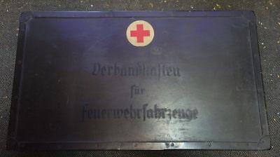 Feuerwehr Verbandkasten Feuerwehrfahrzeuge WW2
