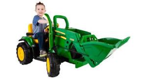 Tracteur jonh deer pour enfant